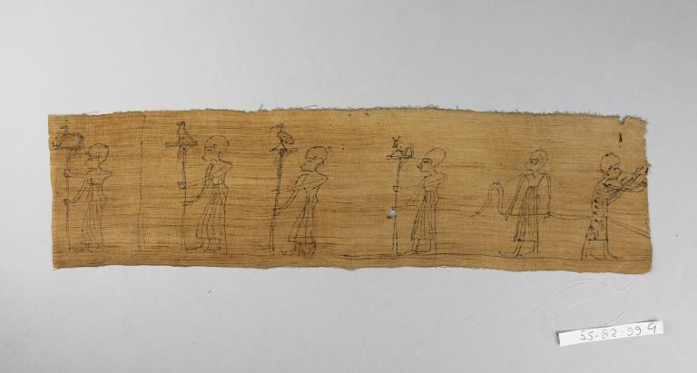 Inscribed Mummy Bandage card