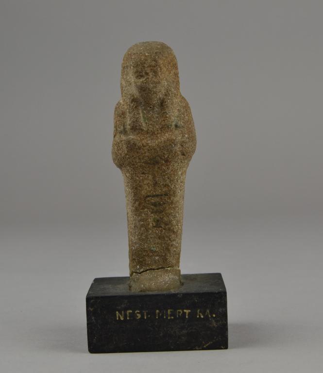 Shabti of Nes–ta–wedjat–re card