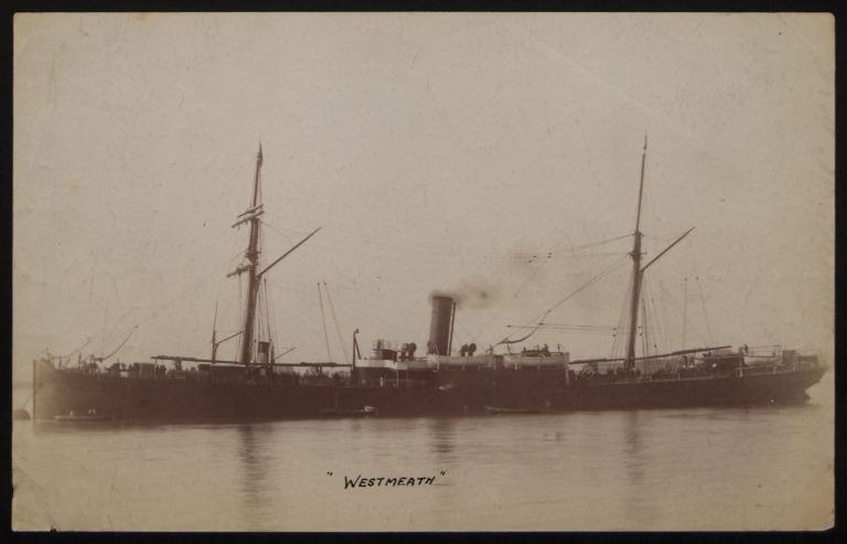 Photograph of West Meath, R M Hudson card