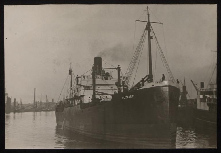 Photograph of Elizabete, R M Hudson card