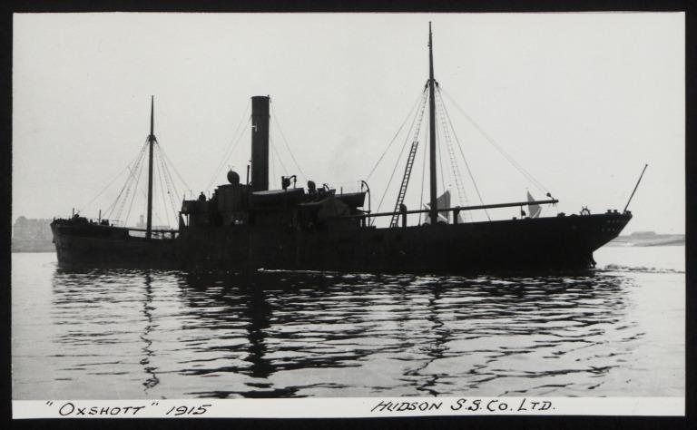 Photograph of Oxshott, R M Hudson card