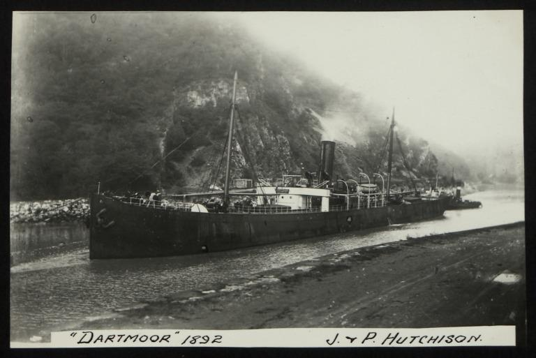 Photograph of Dartmoor, J P Hutchison card