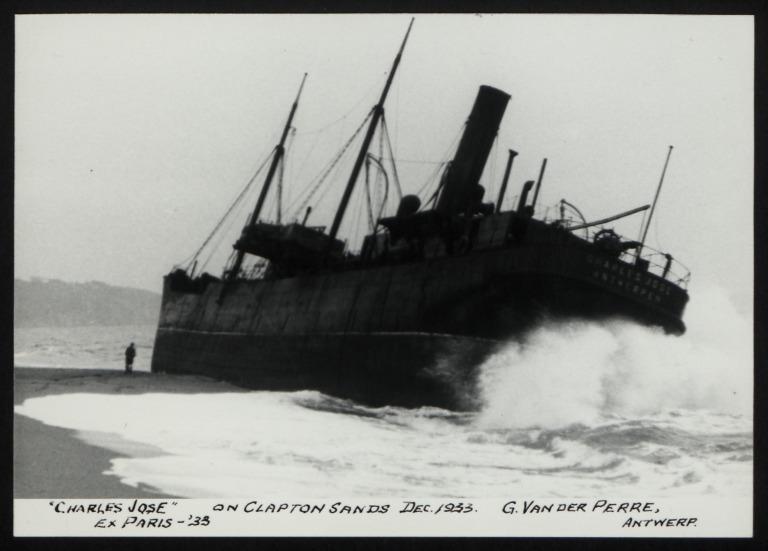 Photograph of Charles Jose (ex Paris), G Van Der Perre card