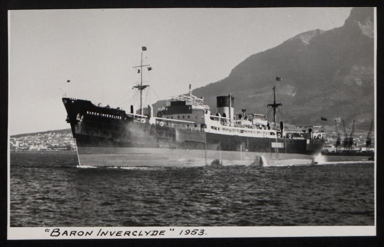 Photograph of Baron Inverclyde, H Hogarth and Sons card
