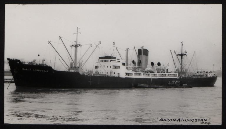 Photograph of Baron Ardrossan, H Hogarth and Sons card