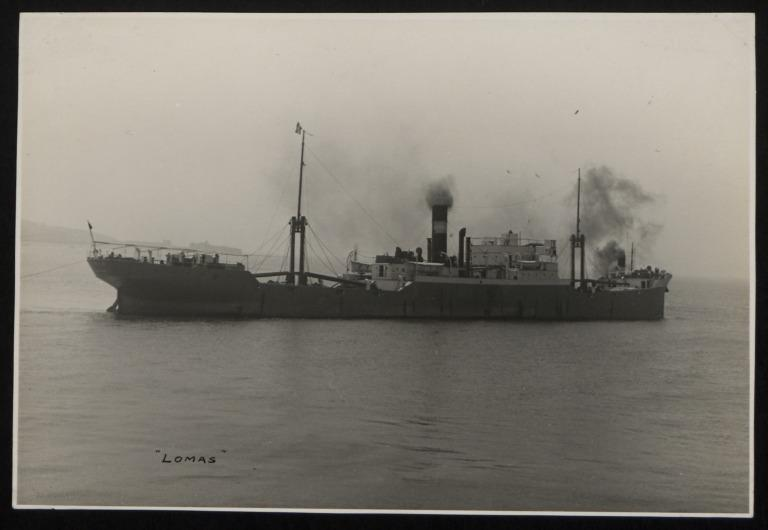 Photograph of Lomas, A Holland and Co card