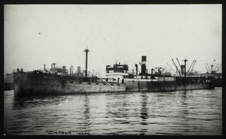 Photograph of Zapala, A Holland and Co card