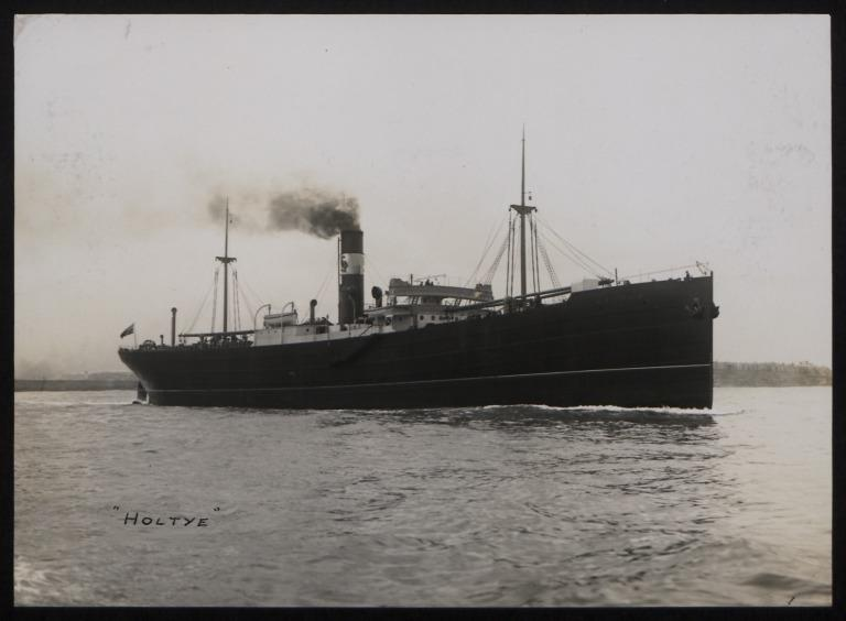 Photograph of Holtye, F S Holland card
