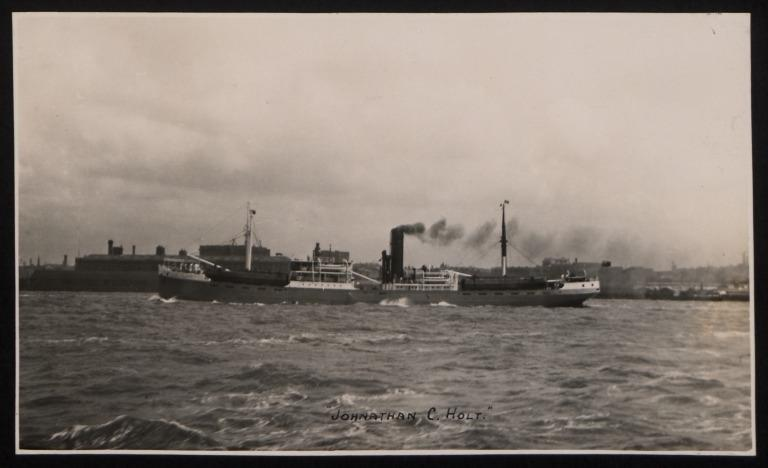 Photograph of Jonathan Holt, John Holt and Company card