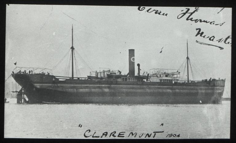 Photograph of Claremont, Horsley Line Ltd card
