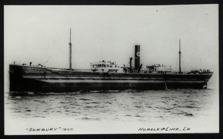Photograph of Serbury, Horsley Line Ltd card