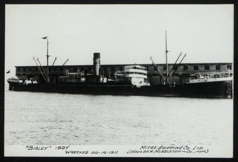 Photograph of Bisley, Houlder, Middleton and Co card