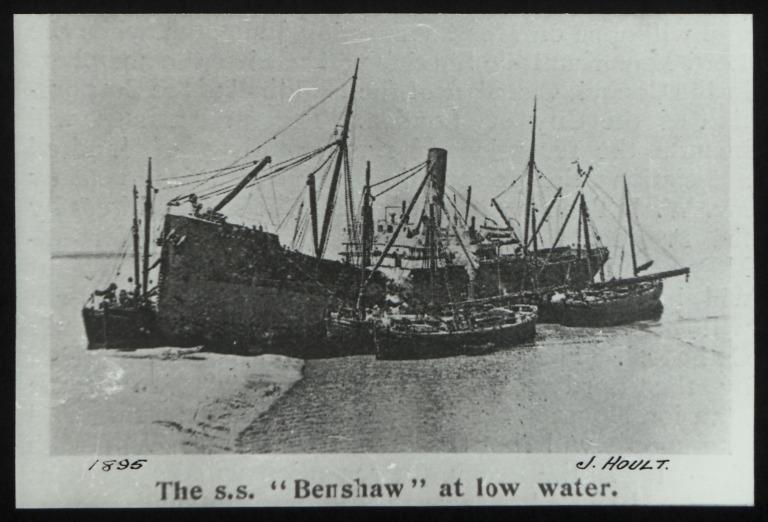 Photograph of Benshaw, J Hoult card