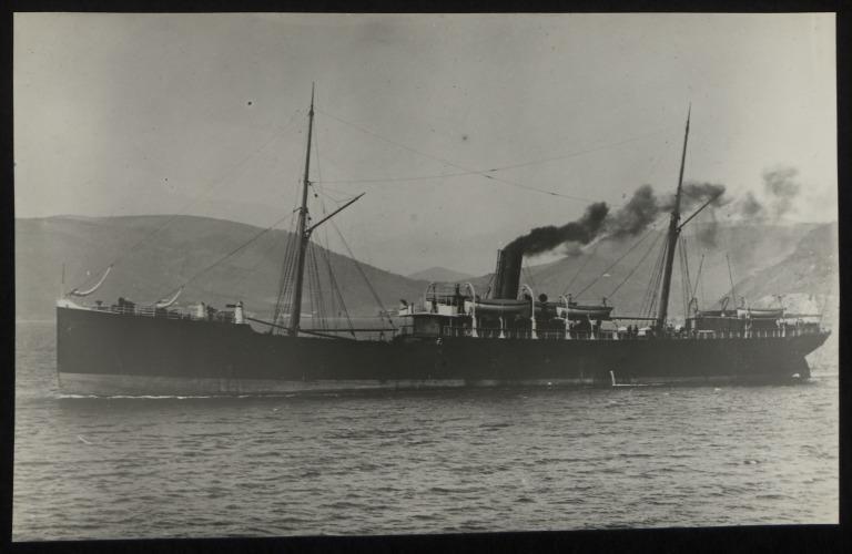 Photograph of Tasmania, Huddart Parker card