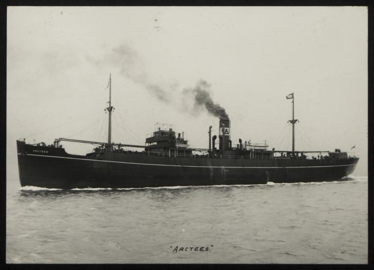 Photograph of Arctees, Isherwood Arcform Ships Ltd card