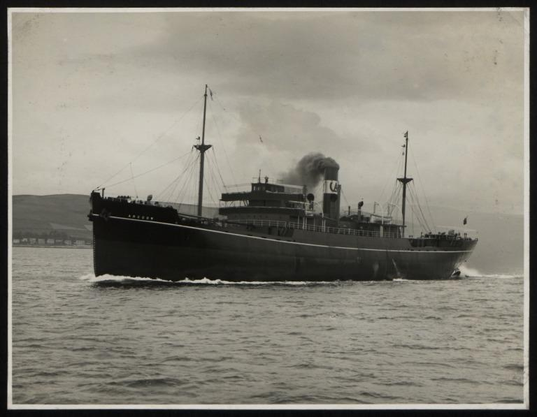 Photograph of Arcgow, Isherwood Arcform Ships Ltd card