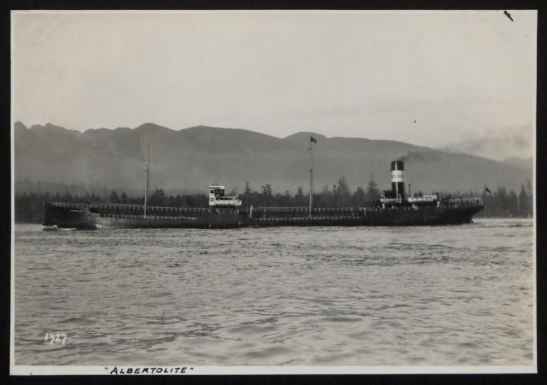 Photograph of Albertolite, Imperial Oil Ltd card