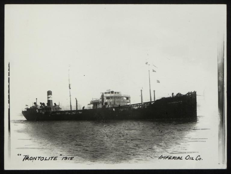 Photograph of Trontolite, Imperial Oil Ltd card