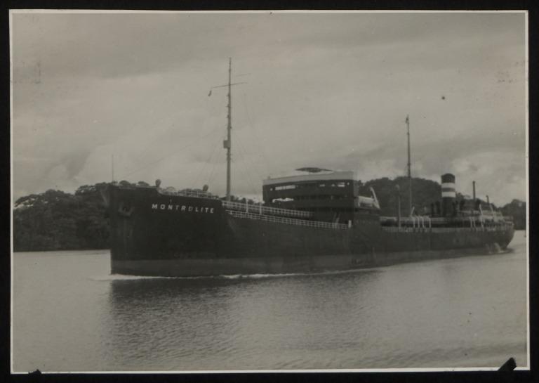 Photograph of Montrolite, Imperial Oil Ltd card