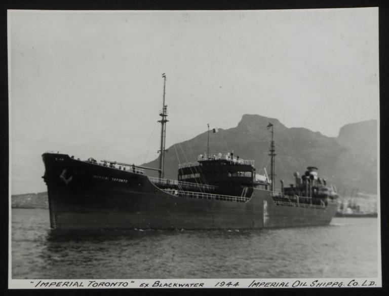 Photograph of Imperial Toronto (ex Blackwater), Imperial Oil Ltd card