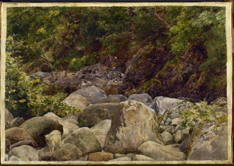 The Baa Lamb: View on a Tributary of the River Duddon card