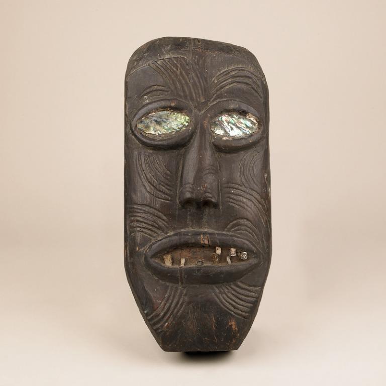 Religious Figure / Mask card