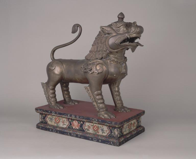Guardian Lion Statue / Seng-ge card