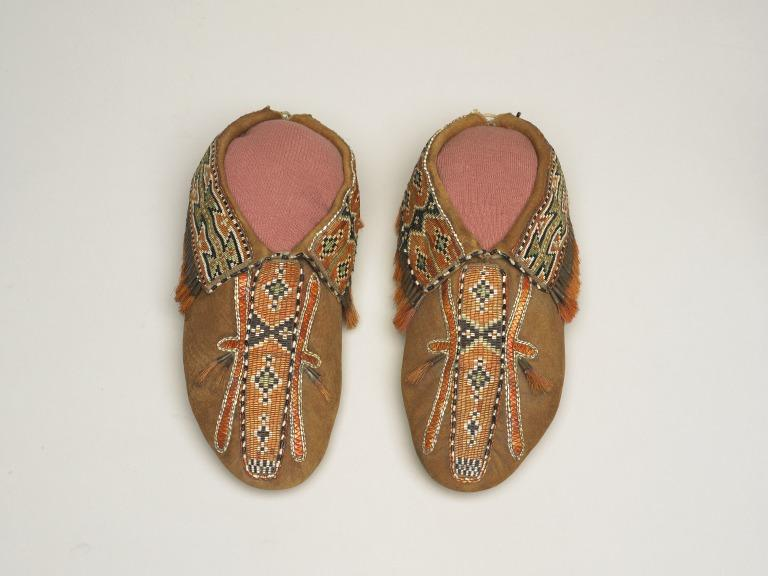 Moccasin, indigenous peoples North America card