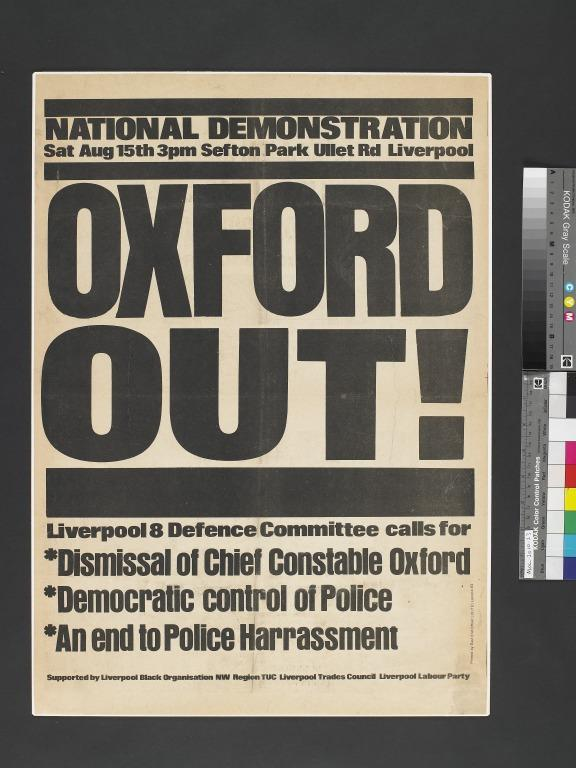 Oxford Out card