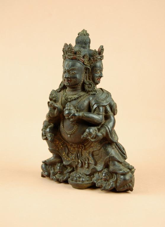 Religious Figure / Jambhala Marpo card