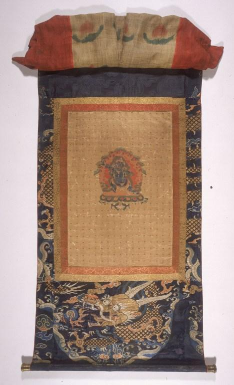 Thangka of Vajrapani or Chag na dorje card
