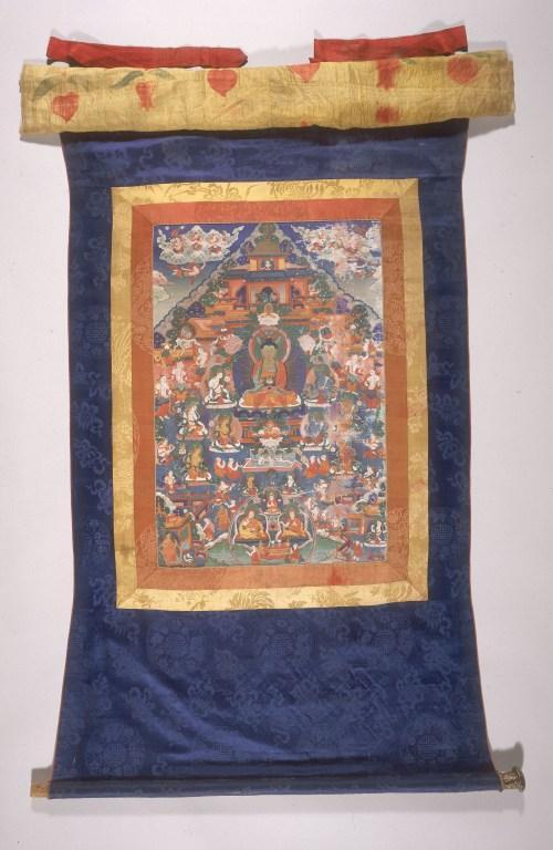 Thangka of Amitabha card