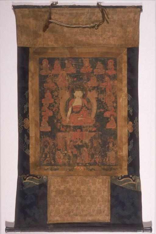 Thangka of the Historical Buddha card