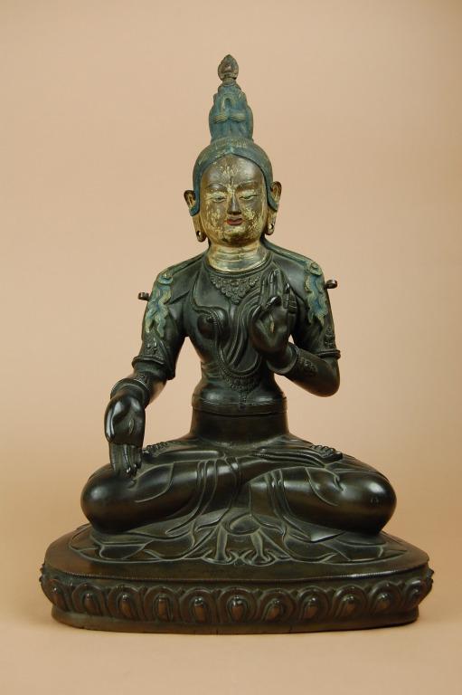 Religious Figure/ White Tara card