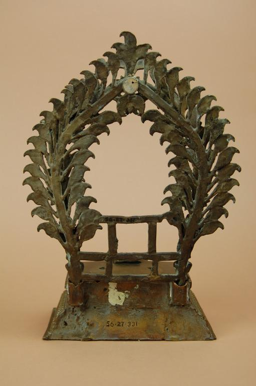 Religious Object / Pedestal for Figure card