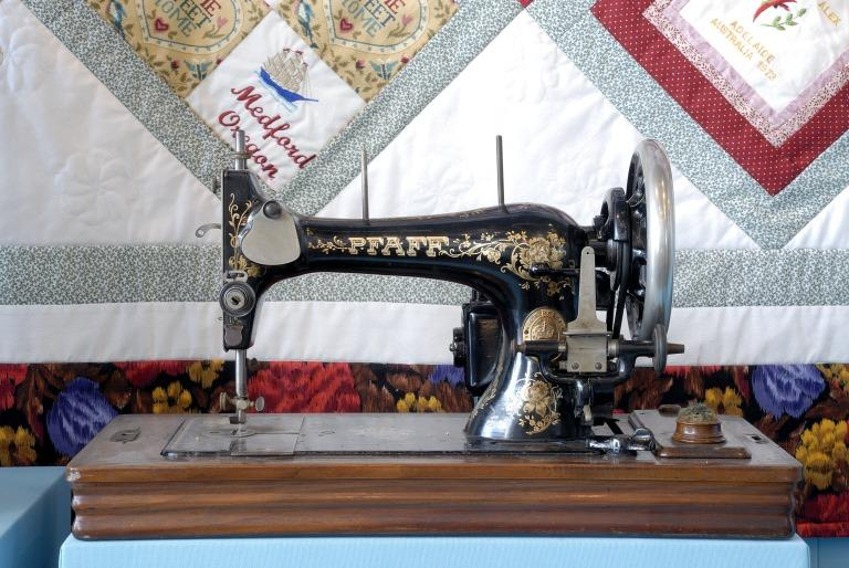 Sewing Machine card