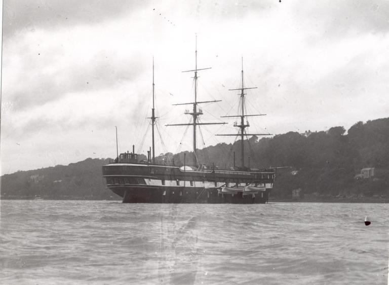 Photograph of Unidentified sailing vessel card