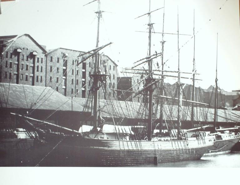Photograph of Princes Dock card