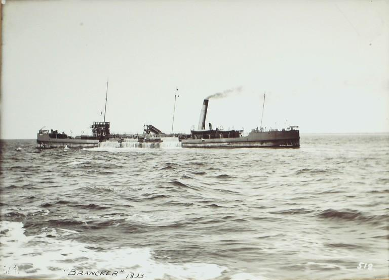 Photograph of Brancker, MDHB (Mersey Docks and Harbour Board) card