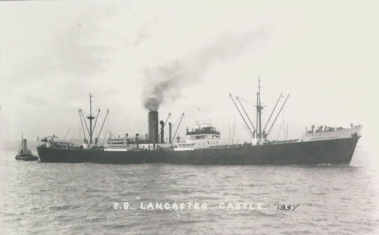 Photograph of Lancaster Castle, James Chambers and Co card