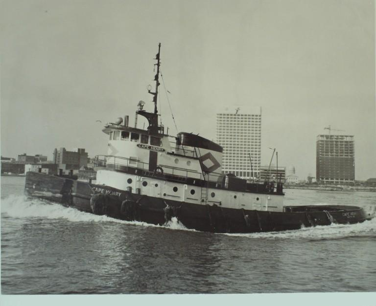 Photograph of Cape Henry card