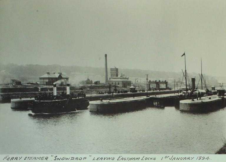 Photograph of Snowdrop, Borough of Wallasey card
