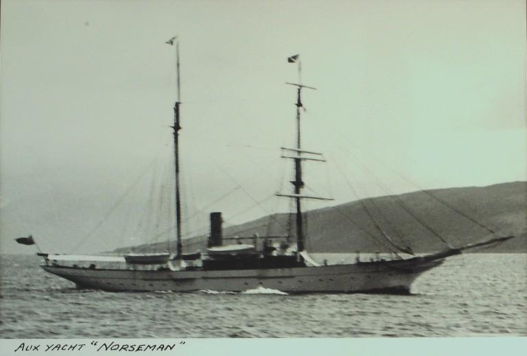 Photograph of Norseman card