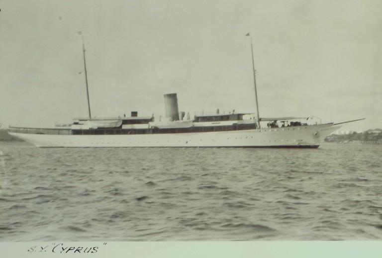 Photograph of Cyprus card