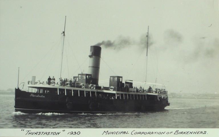 Photograph of Thurstaston, Birkenhead Corporation card