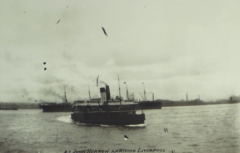 Photograph of John Herron, Borough of Wallasey card