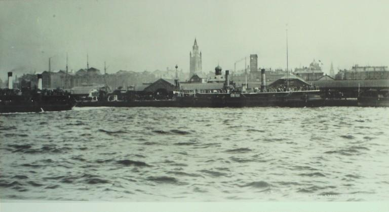 Photograph of Woodside at Liverpool, Birkenhead Corporation card