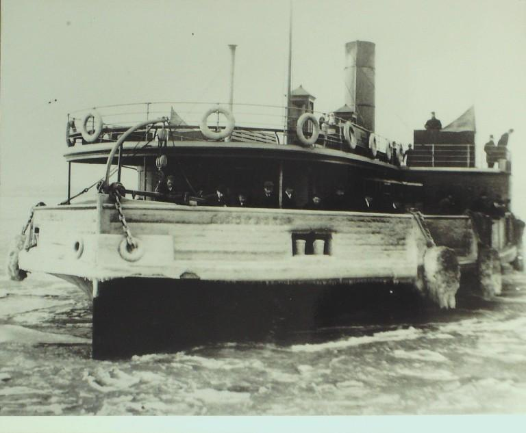 Photograph of Birkenhead card