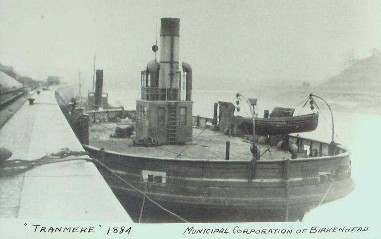 Photograph of Tranmere, Birkenhead Corporation card