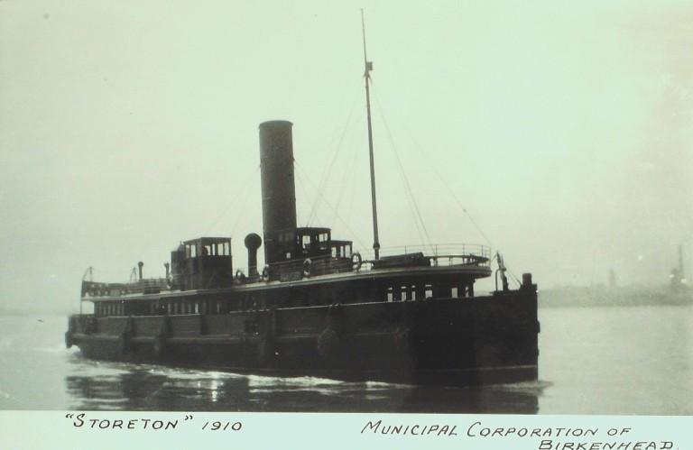 Photograph of Storeton, Birkenhead Corporation card